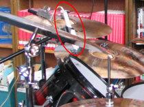 rack tom sony mtl f-96 mic side view