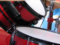 snare drum shure sm-57 side