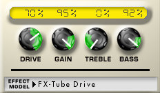 lincoln brewster tube driver settings