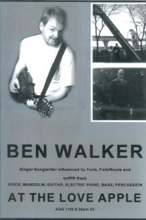 Ben Walker poster 2002