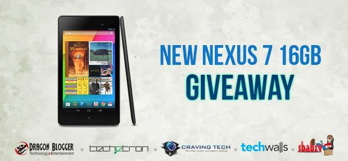 Win a google nexus 7