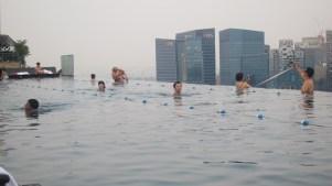 Been Infinity Pool Marina Bay Sands hotel