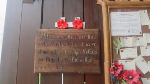Changi Churches and Museum prayer