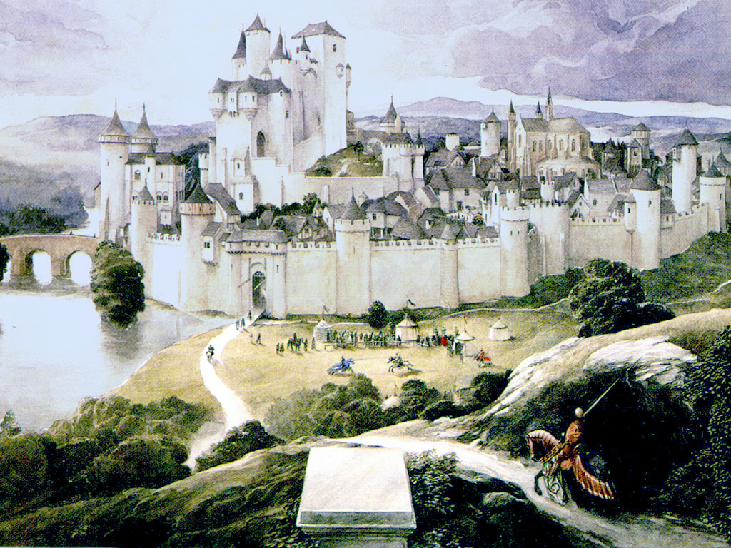 How to write about King Arthur, Camelot, Excalibur and Merlin. Feel chivalrous.