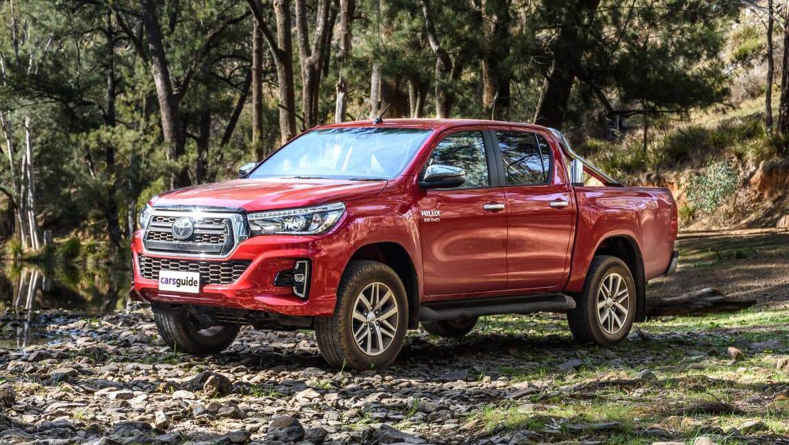 Top utes sold in 2019