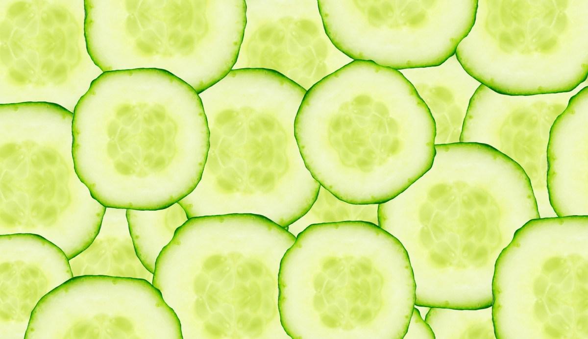 Agurk - og du som troede at den kun var lang, smal, grøn og med masser af vand!
