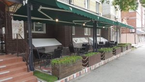 Летняя терраса ресторана Београд