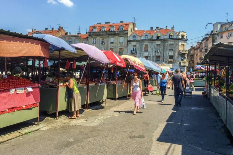 рынок белград сербия