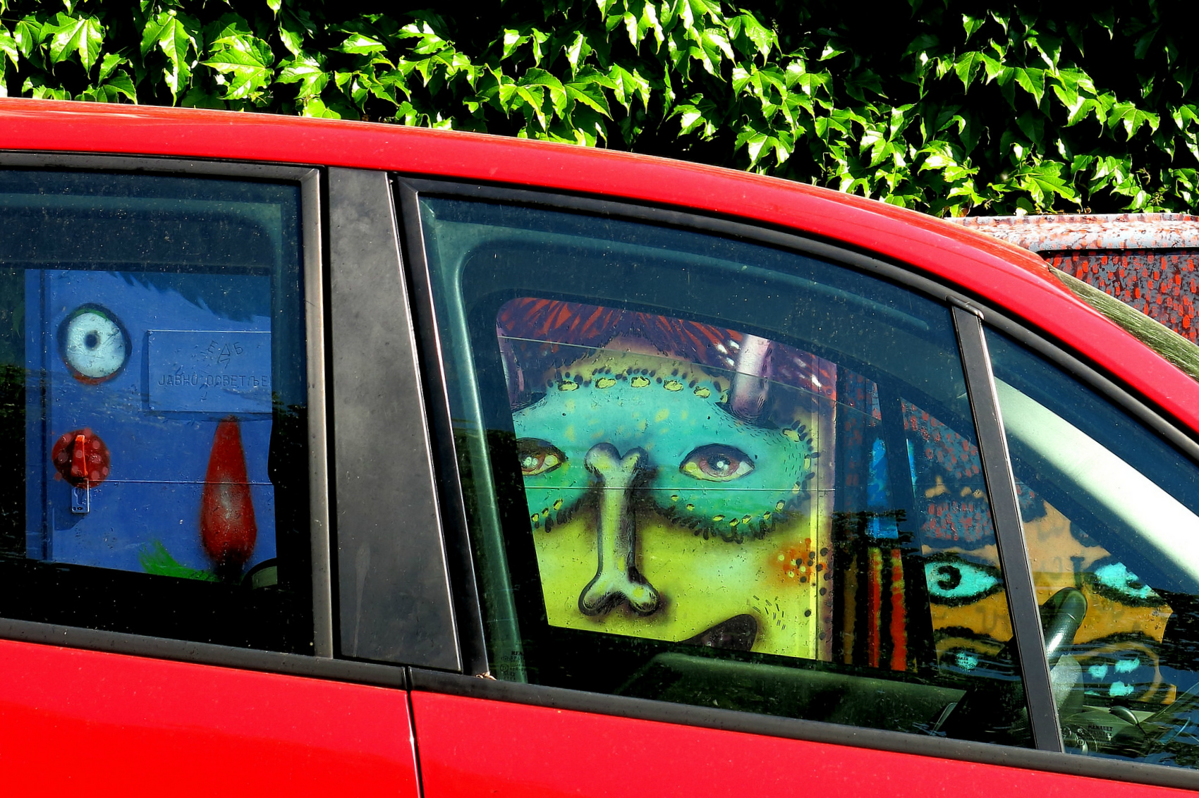 граффити стрит-арт муралы белград сербия
