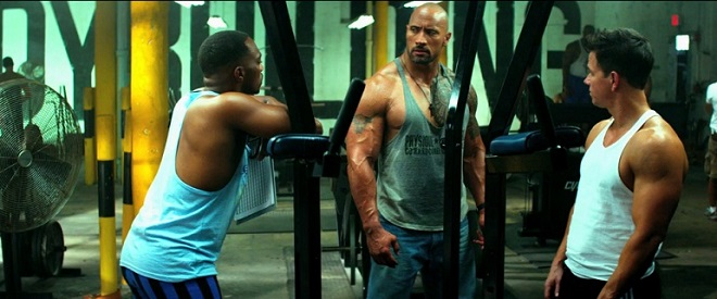 Image result for dwayne johnson pain and gain escena