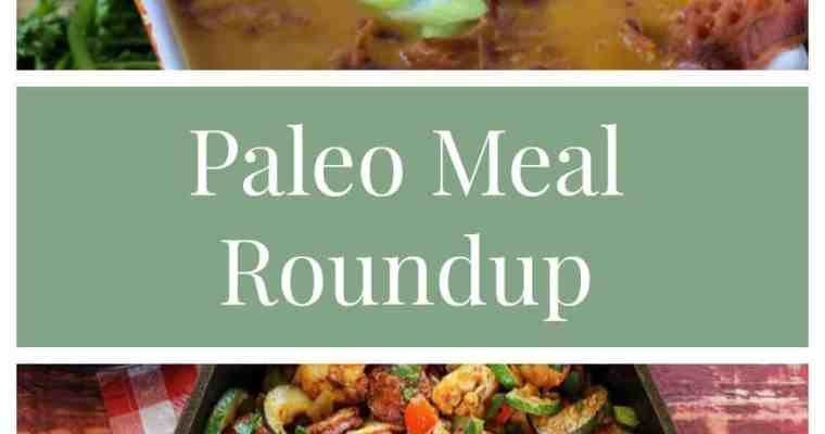 Pinterest Paleo Meal Roundup