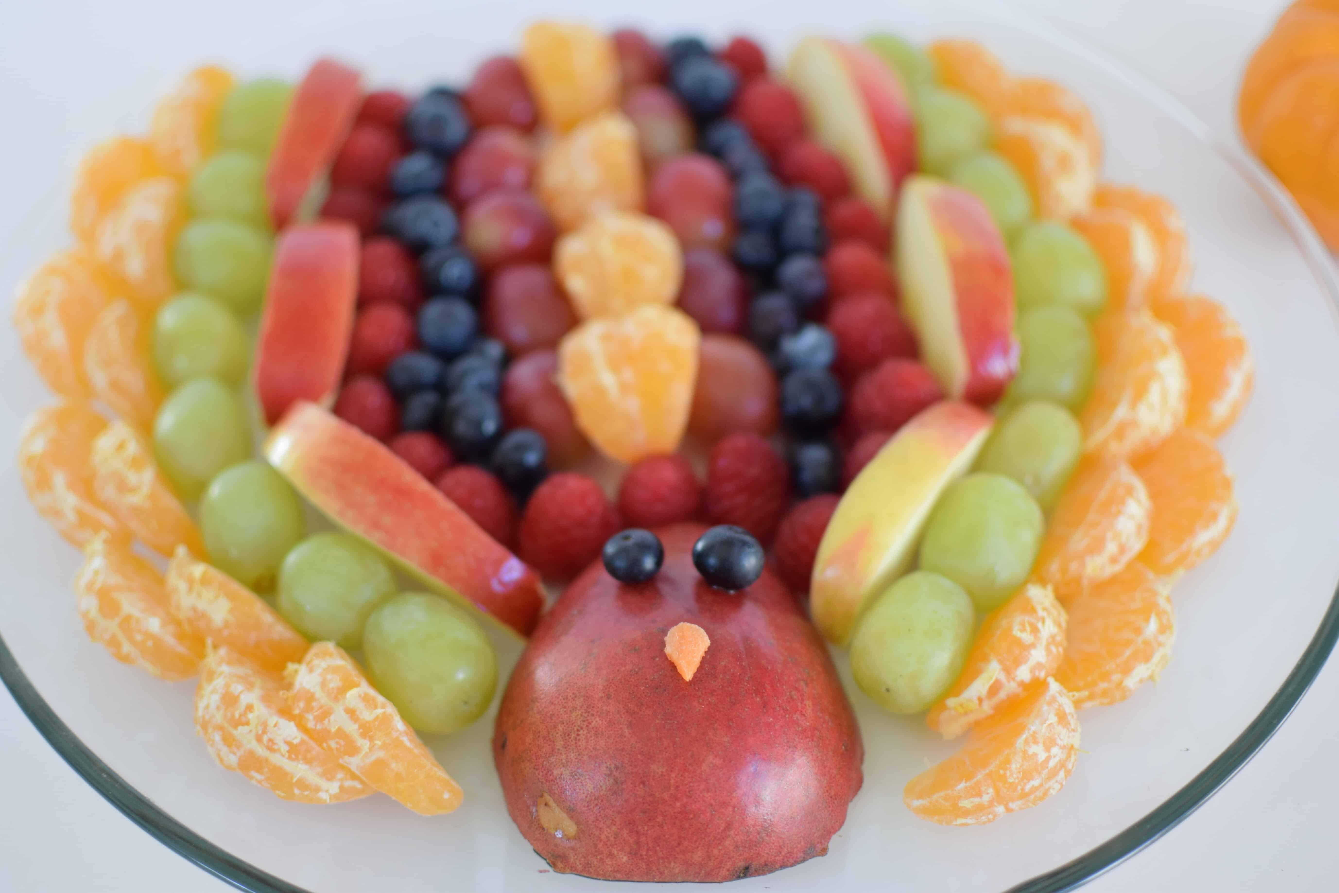 Fruit Turkey Appetizer – Thanksgiving Blogluck
