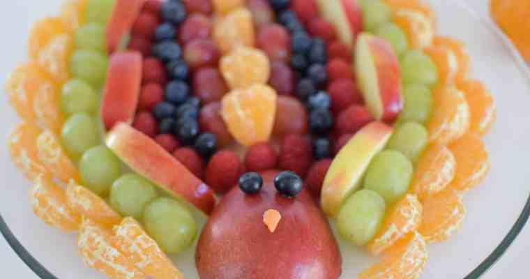 Fruit Turkey Appetizer – Thanksgiving Blogluck