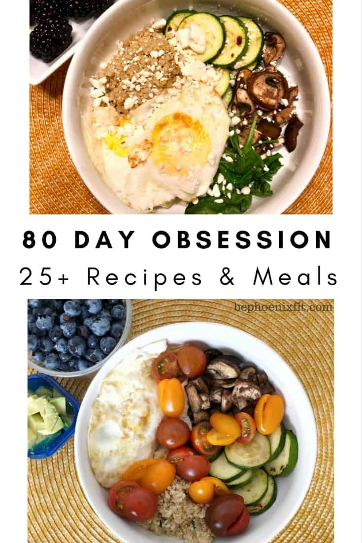 80 day obsession recipes for 25 meals amanda seghetti 80 day obsession recipes forumfinder Images