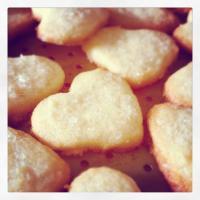 Lemon zest Shortbread Cookies - Bánh quy bơ chanh