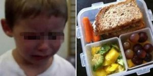 Mom gets furious after her son's school lunch is thrown out because it is unhealthy.
