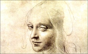 Leonardo da Vinci (Portrait of a Girl)