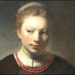 Rembrandt-Workshop-Young-Woman-at-an-Open-Half-Door-Chicago-Art-Institute SM