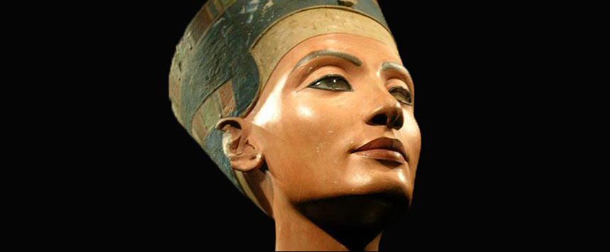 Nefertiti Egyptian Museum of Berlin