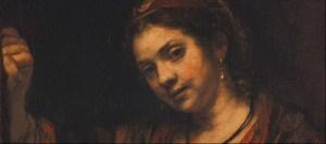 Rembrandt - Portrait of Hendrickje Stoffels 1656