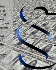 """Citat af Noam Chomsky: """"Concentration of wealth yields concentration of political power. And concentration of political power gives rise to legislation that increases and accelerates the cycle."""" Originalfoto og -illustration: pixabay.com. Citatcollage: Maria Busch."""