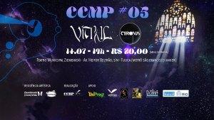 CCMP #05 :: Vitral :: Chronus @ Teatro Ziembinsk | Rio de Janeiro | Brasil