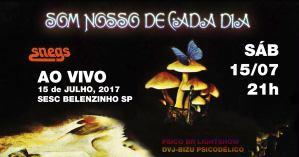 Som Nosso de Cada Dia @ SESC Belenzinho | São Paulo | Brasil