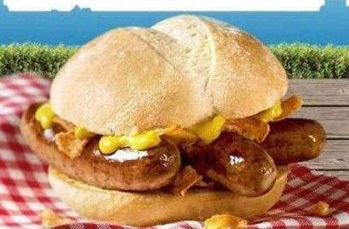 德國:McDonald's McSausage Burger
