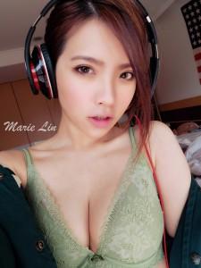 台灣內衣女神Marie Lin (3)