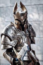 косплей рыцаря