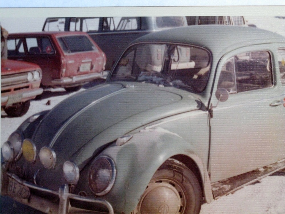 A 1962 VW Beetle joins the 'family' (2/6)