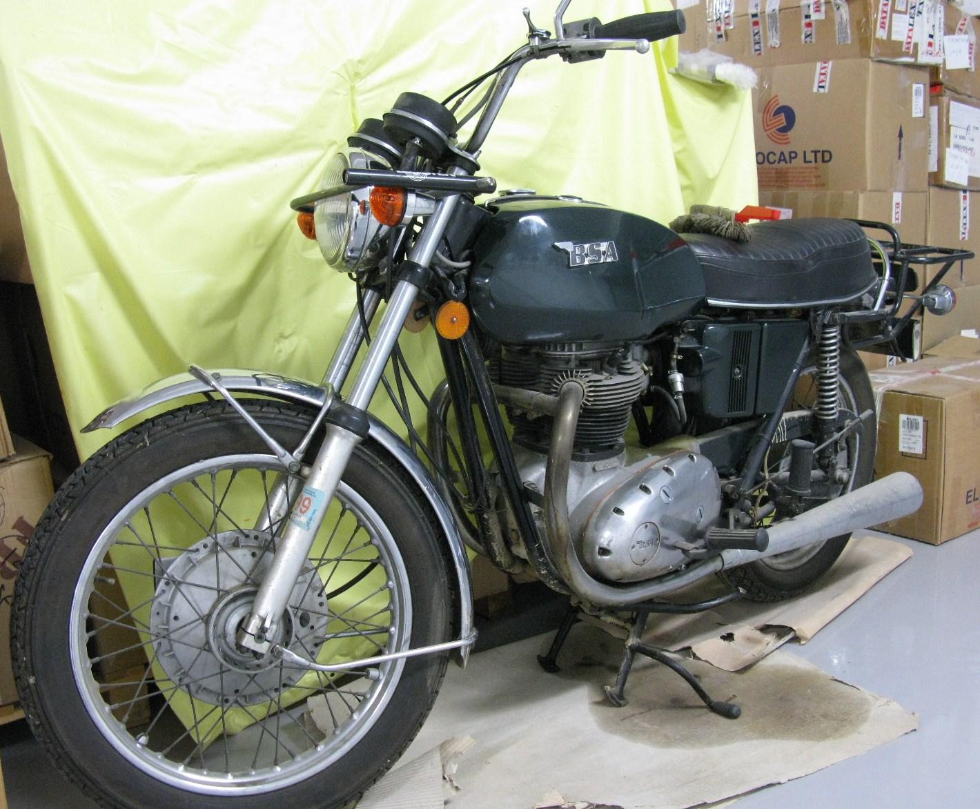 BSA 650 ccThunderbolt (single carb) 1972