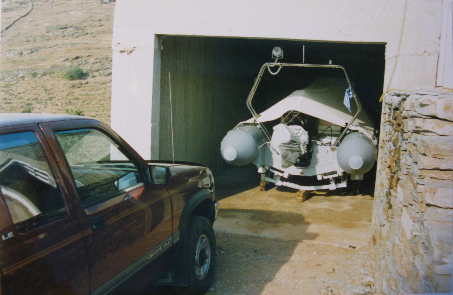 M-II at the Garage in Katevati (pre- R-66 days).