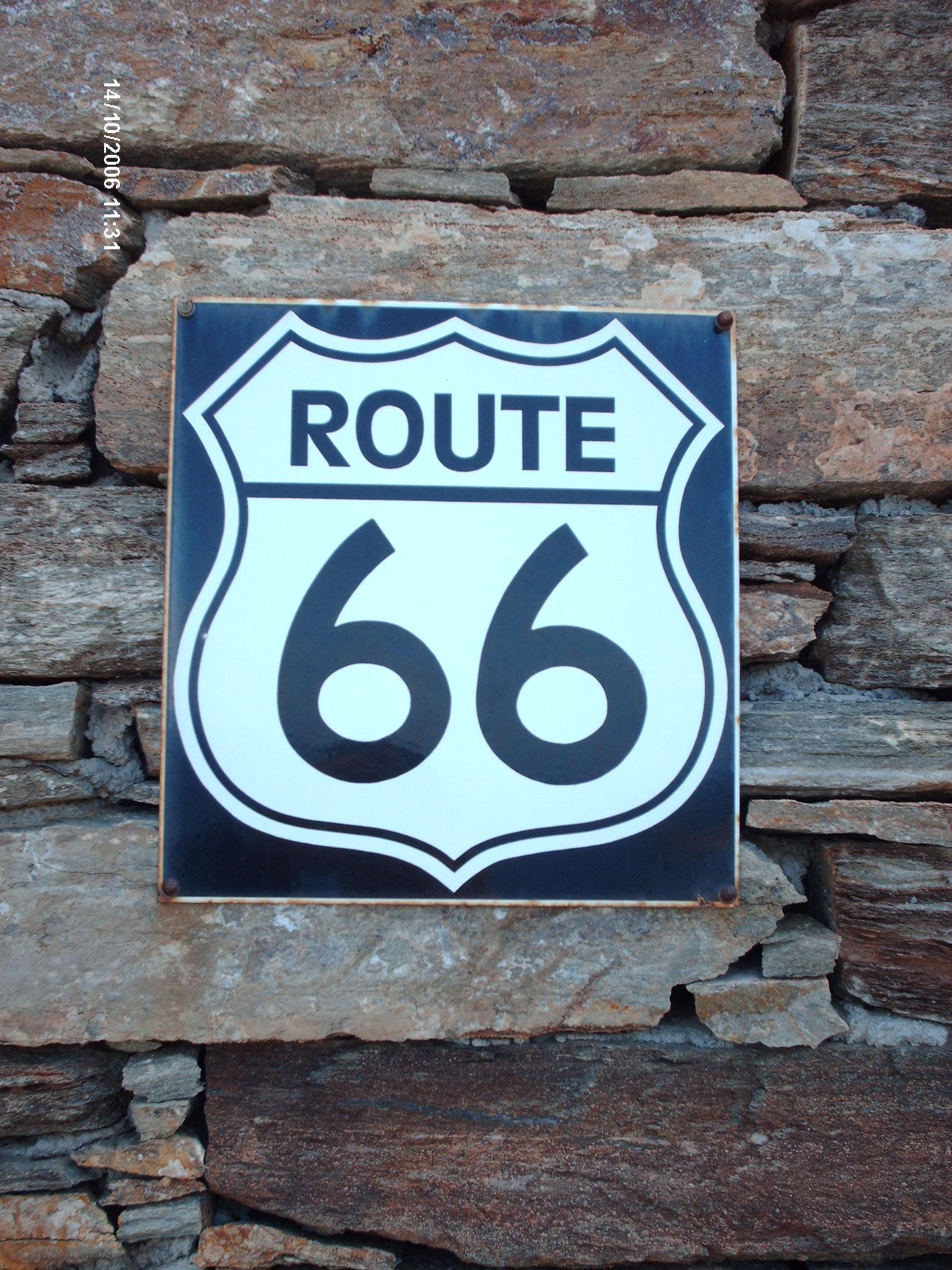 Route 66 on Katevati