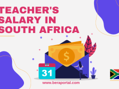 Teacher's Salary Structure in South Africa