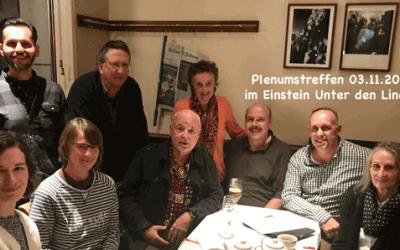 Plenumstreffen November 2017