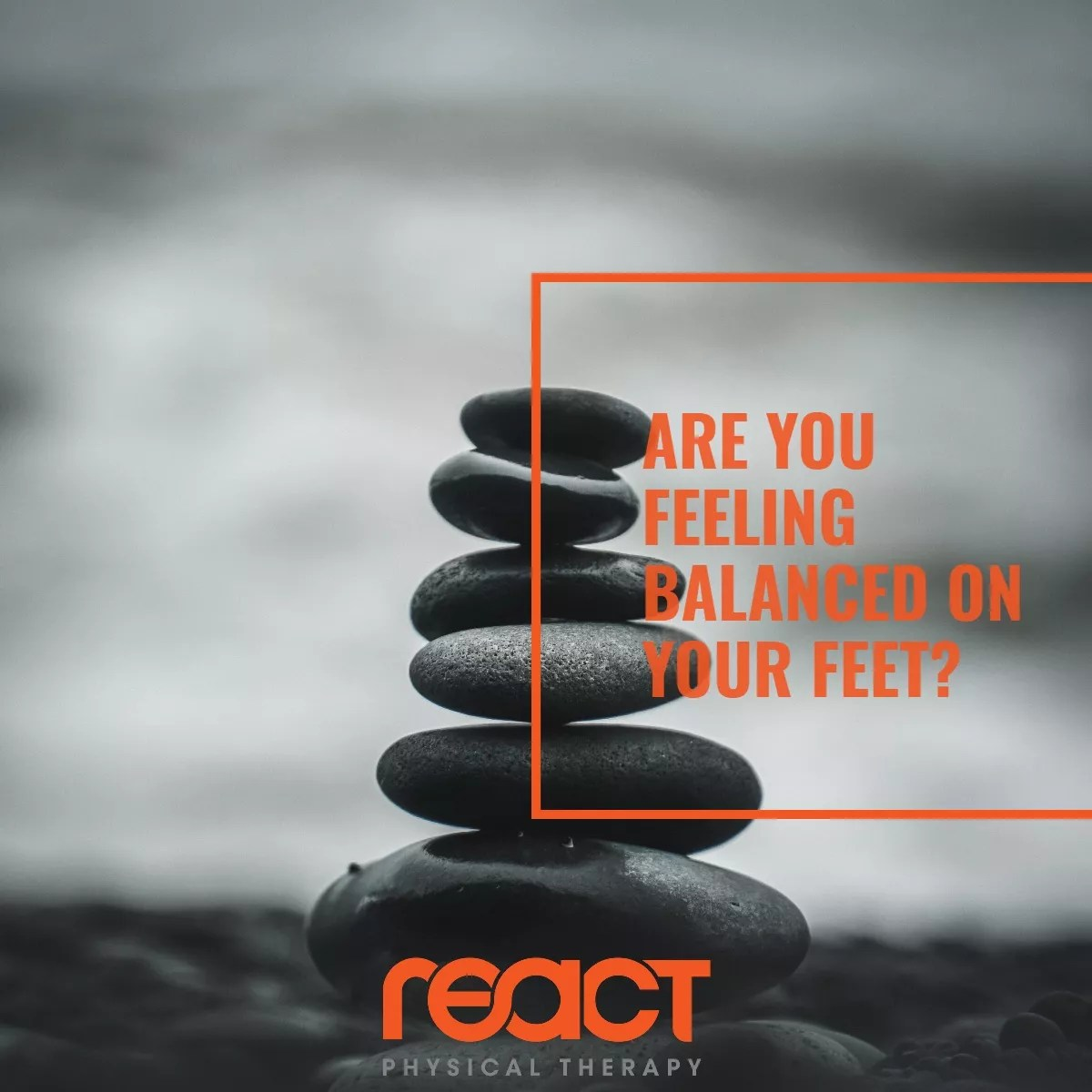 Are You Feeling Balanced On Your Feet?