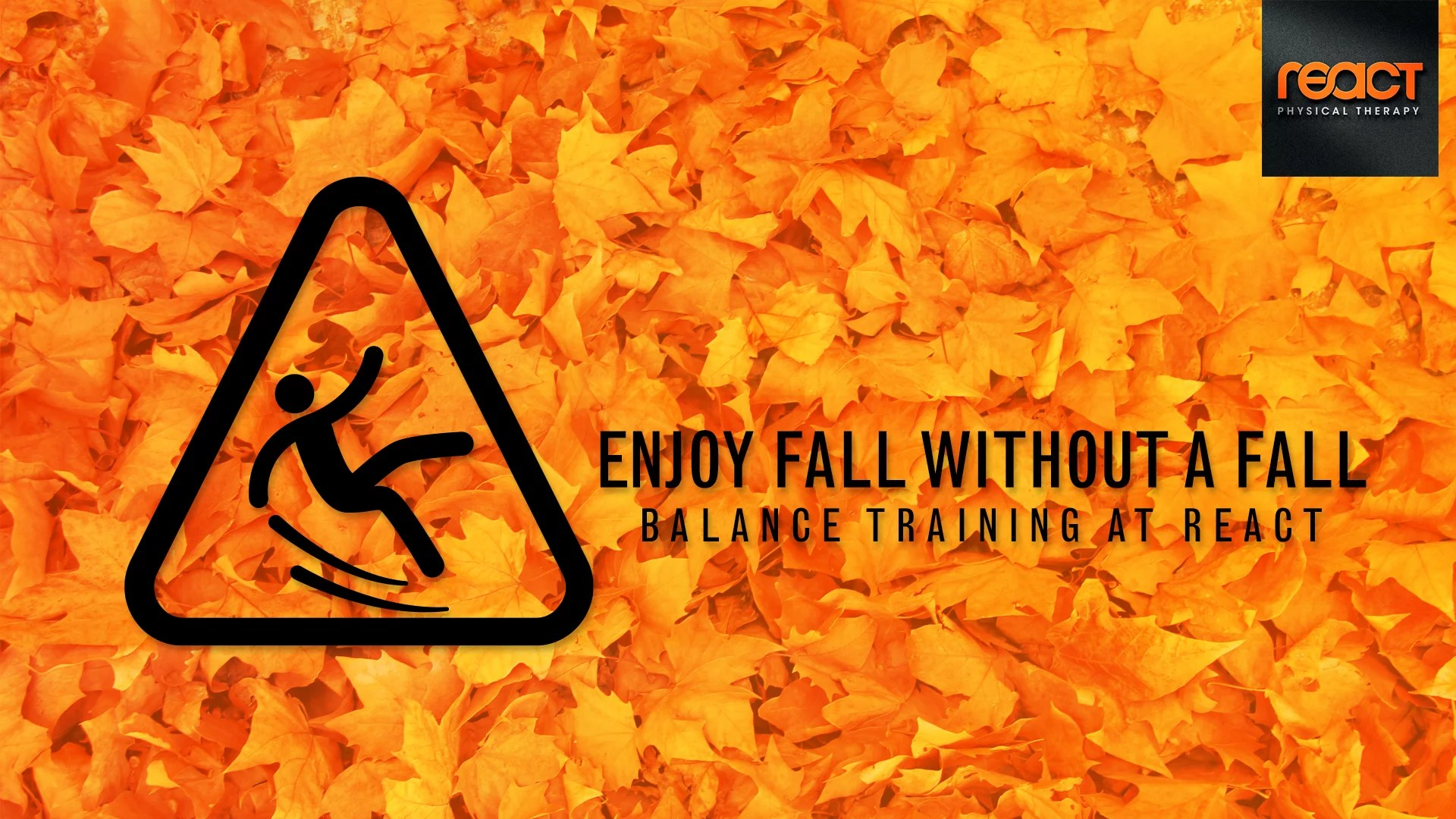 Fall Prevention With Balance Training At React PT
