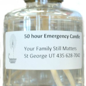 50 Hour Emergency Candle