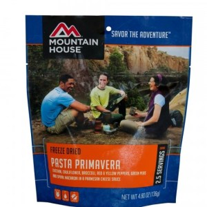 Pasta Primavera Freeze-dried Pouched Food or Meal