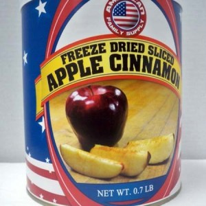 Apple Cinnamon Slices Freeze Dried