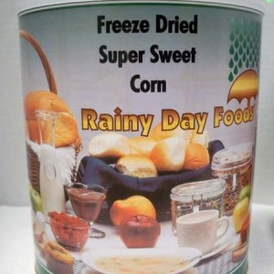 Corn Sweet Freeze Dried