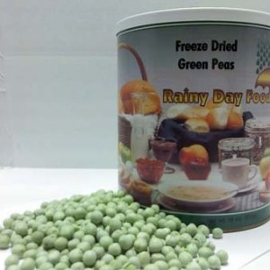 Peas Sweet Freeze Dried