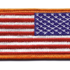 American Flag Reverse Patch