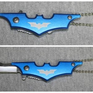 Bat Knife with Spring Assist