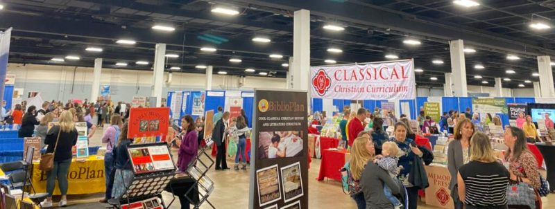 homeschool convention exhibit hall