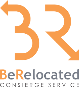 Berelocated Concierge Service Vertical Logo Retina