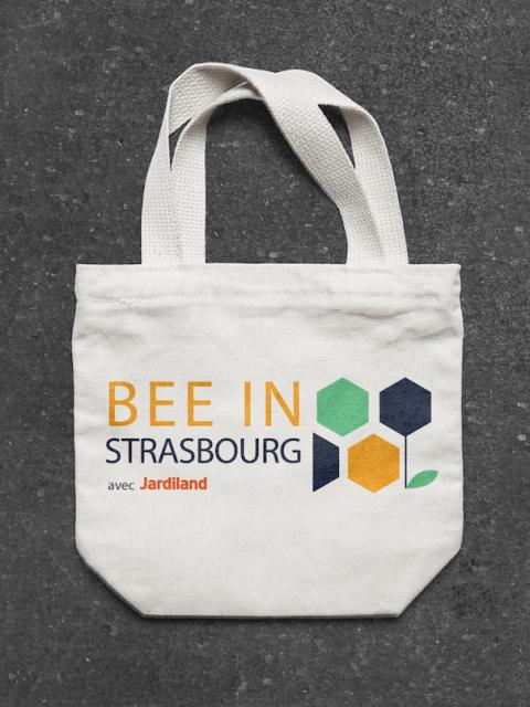 Logo Bee In Strasbourg - Tote bag