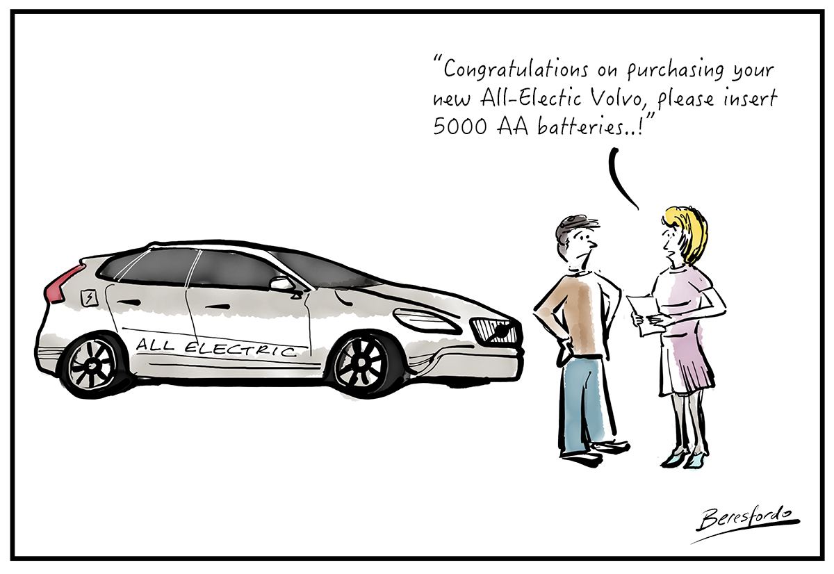 All Electric Volvos