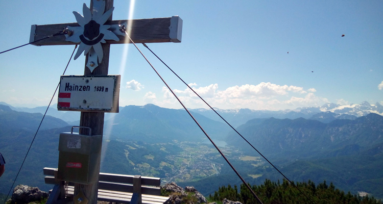 Gipfelkreuz Hainzen bei Bad Ischl